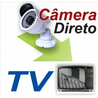 Kit Camera Veja na Tv, Cabos; Completo
