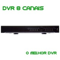 DVR Stand Alone 8 Canais VT-8BS