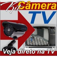 Kit Camera Veja na Tv, Cabos Completo