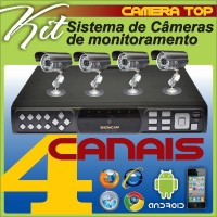 kit DVR + Super Camera  CC30 Original